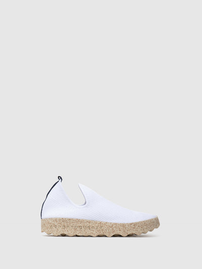 ASPORTUGUESAS White Elasticated Sneakers