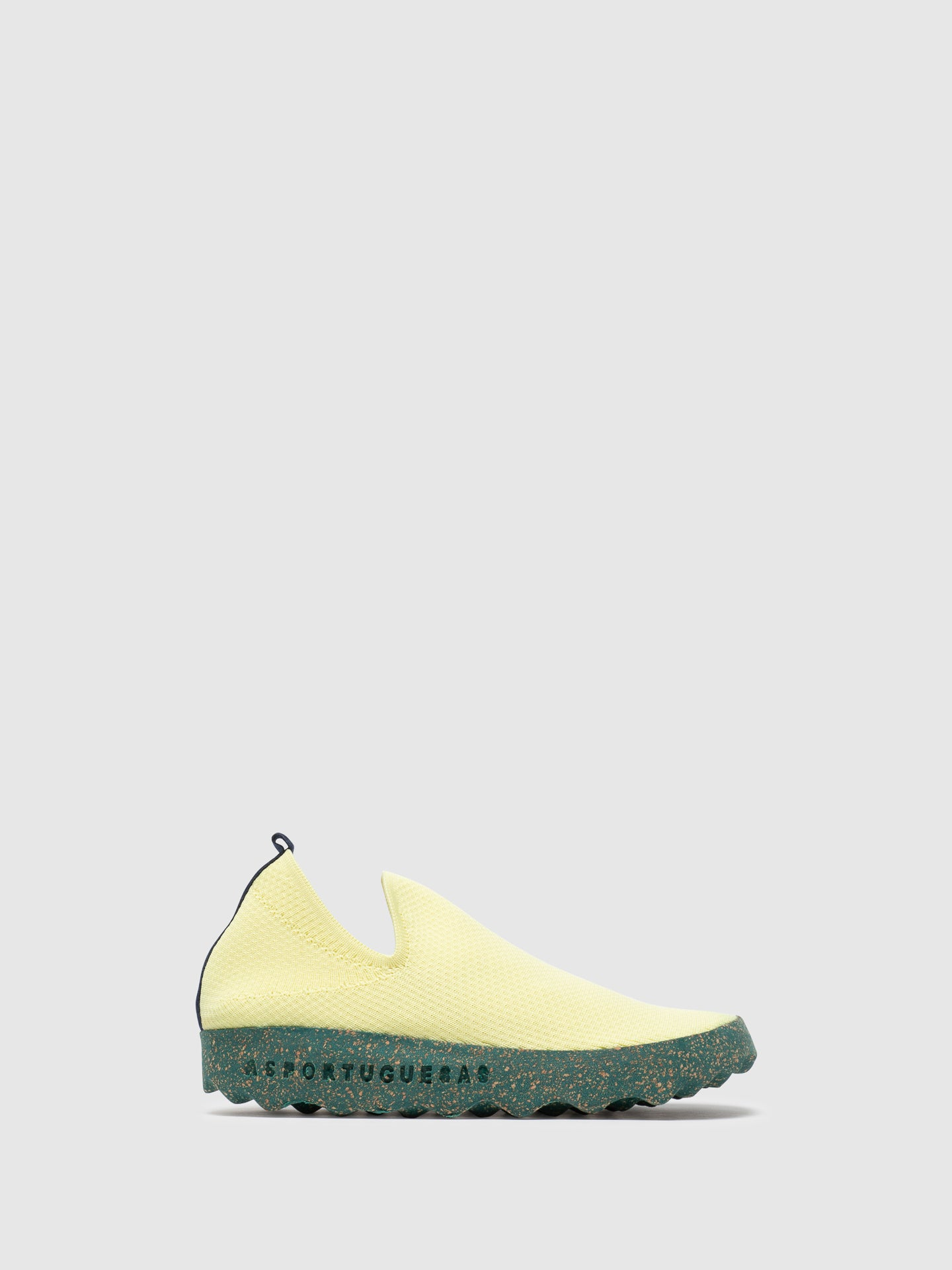 ASPORTUGUESAS Yellow Elasticated Sneakers