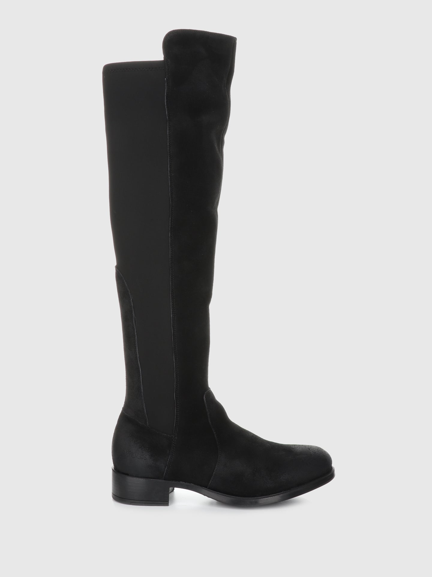 Bos&Co Black Suede Knee-High Boots