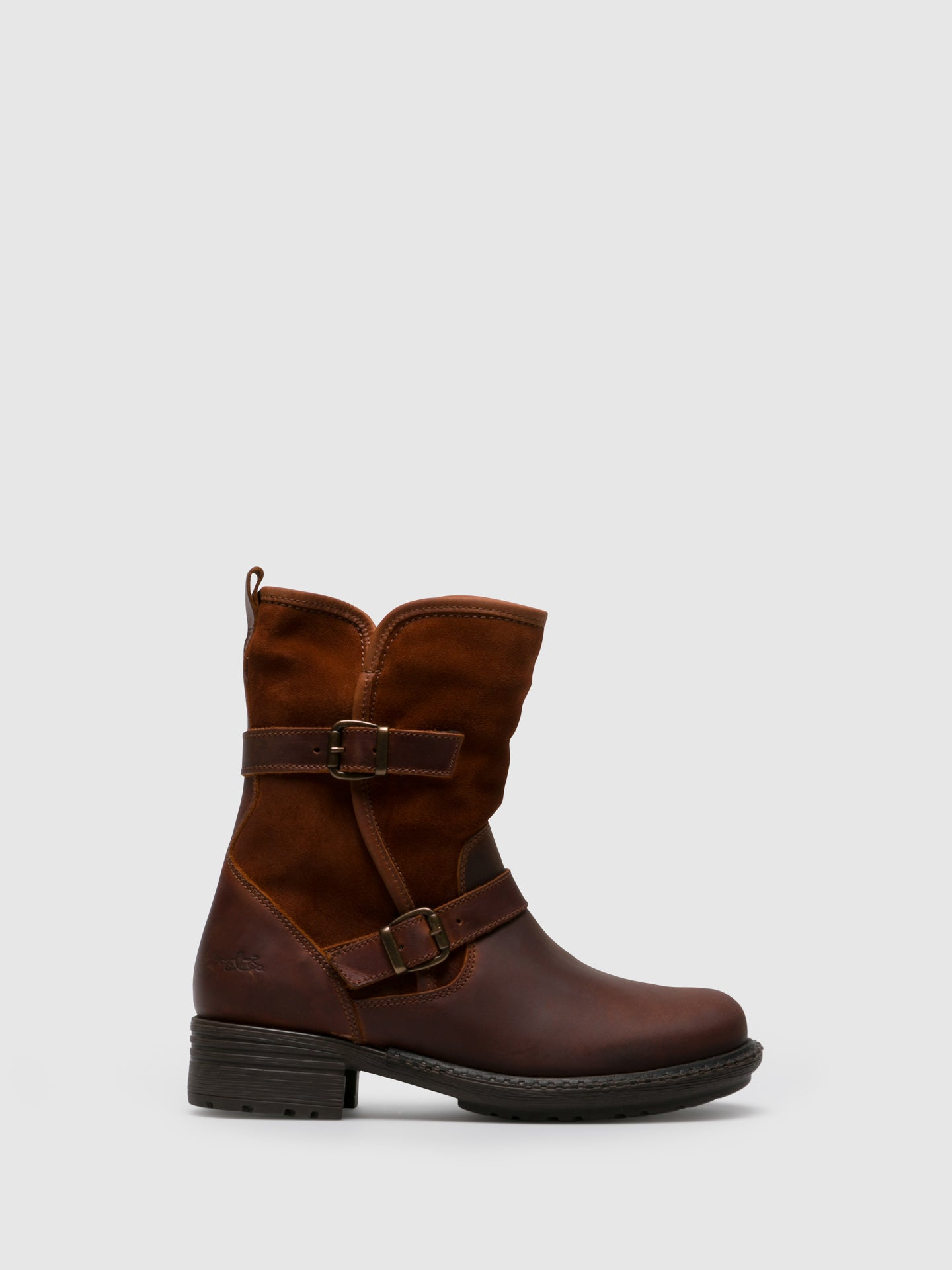 Bos&Co DarkRed Zip Up Boots