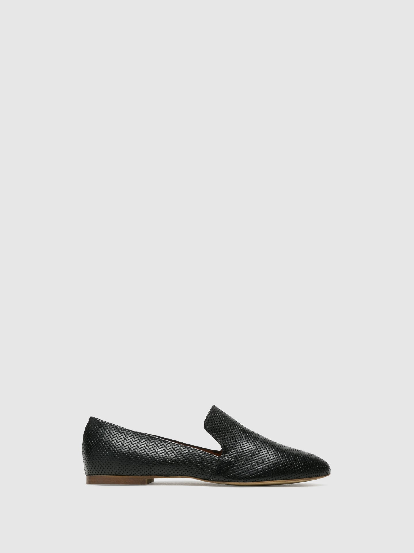Bos&Co Black Loafers Shoes