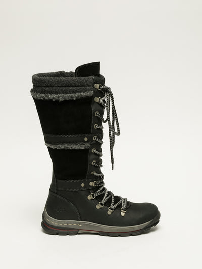 Bos&Co Black Knee-High Boots