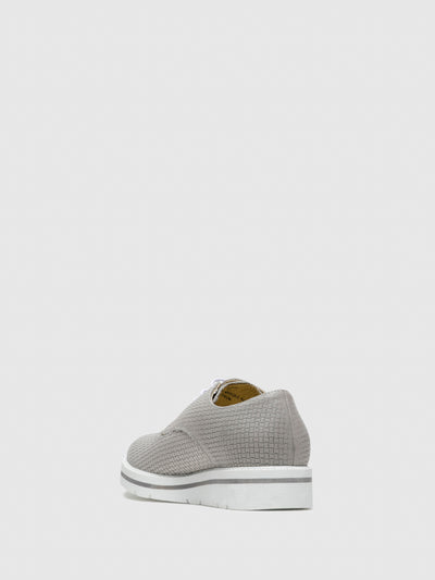 Bos&Co Gray Lace-up Shoes