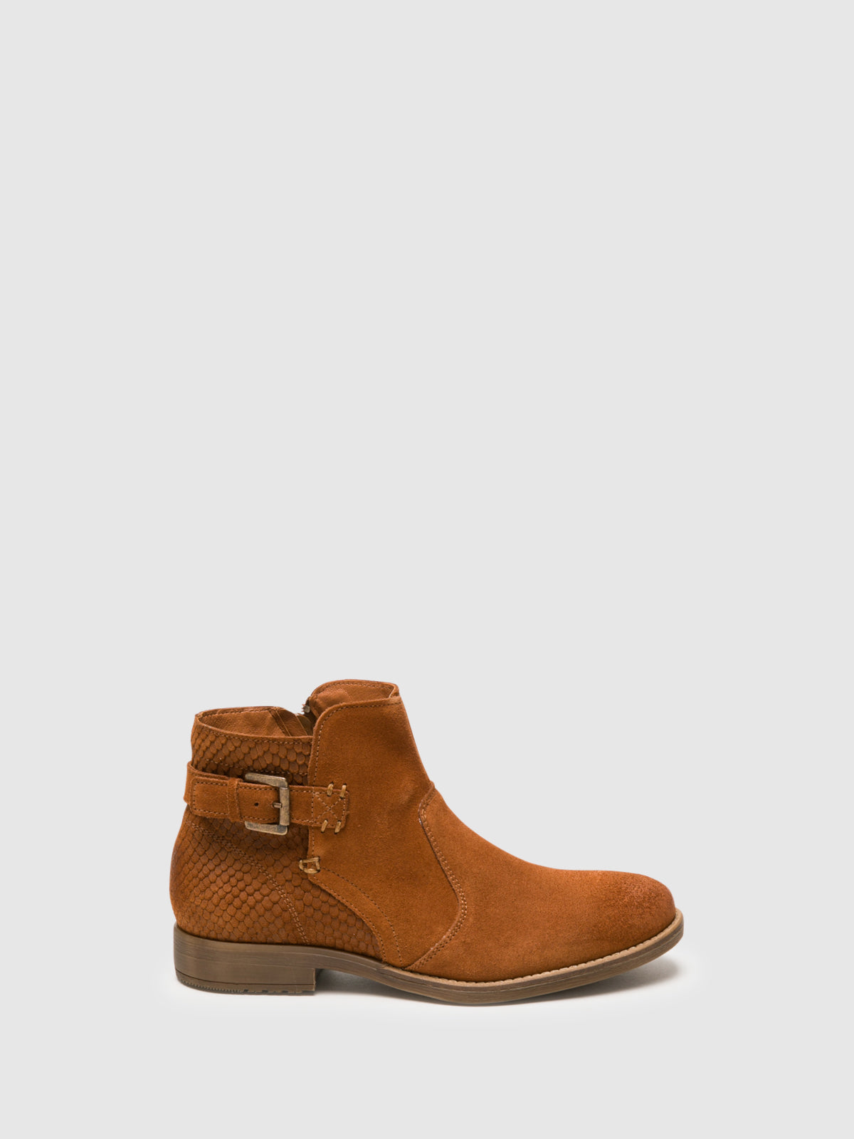 Bos&Co Peru Zip Up Ankle Boots