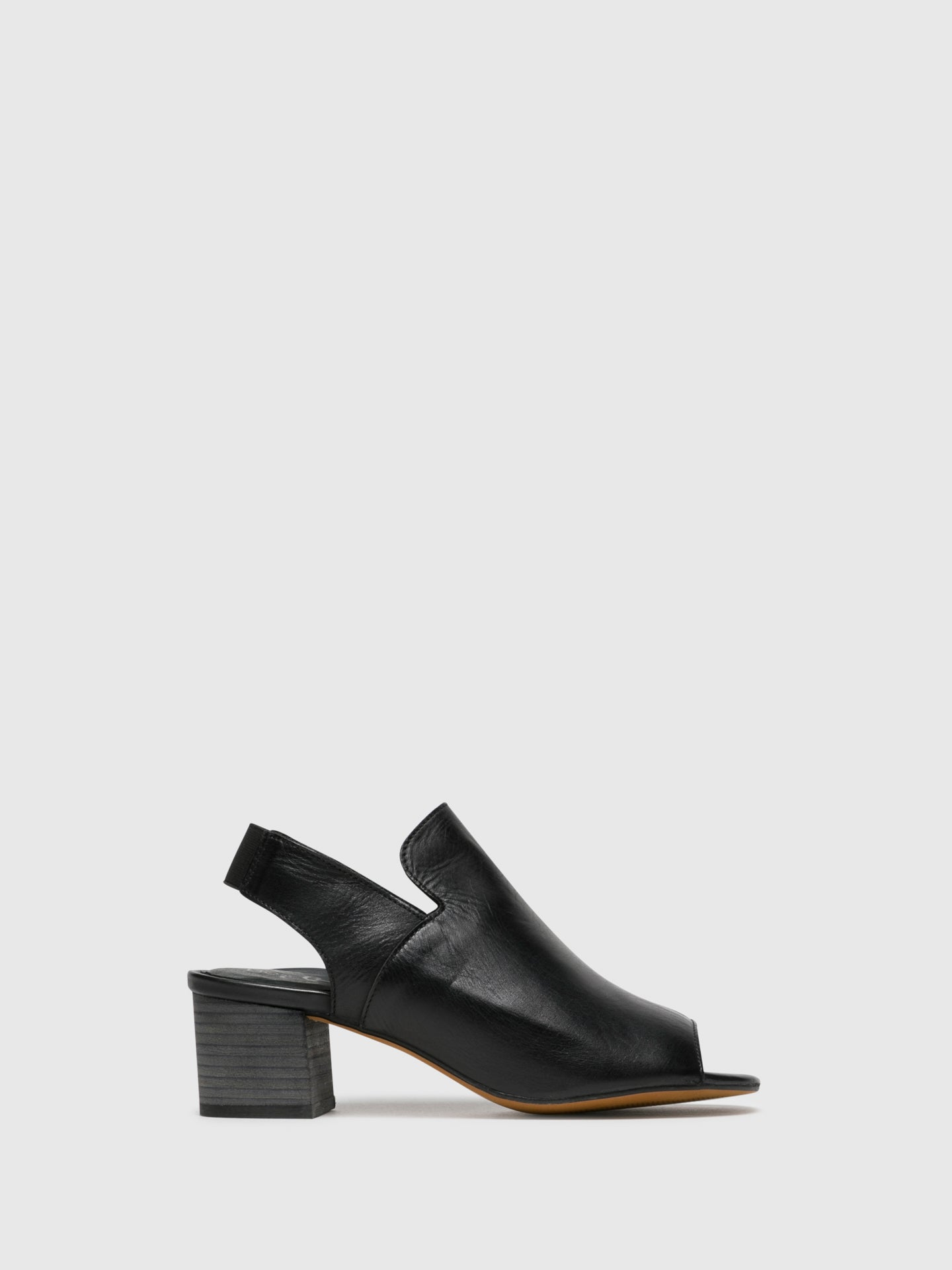 Bos&Co Black Heel Sandals
