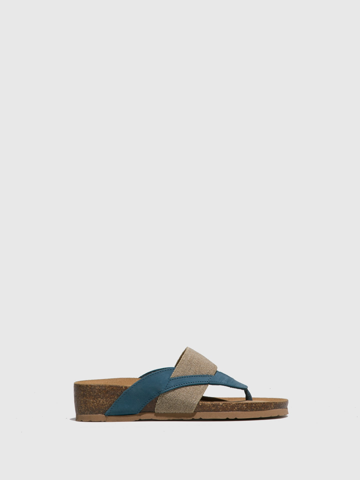 Bos&Co Blue Thong Flip-Flops