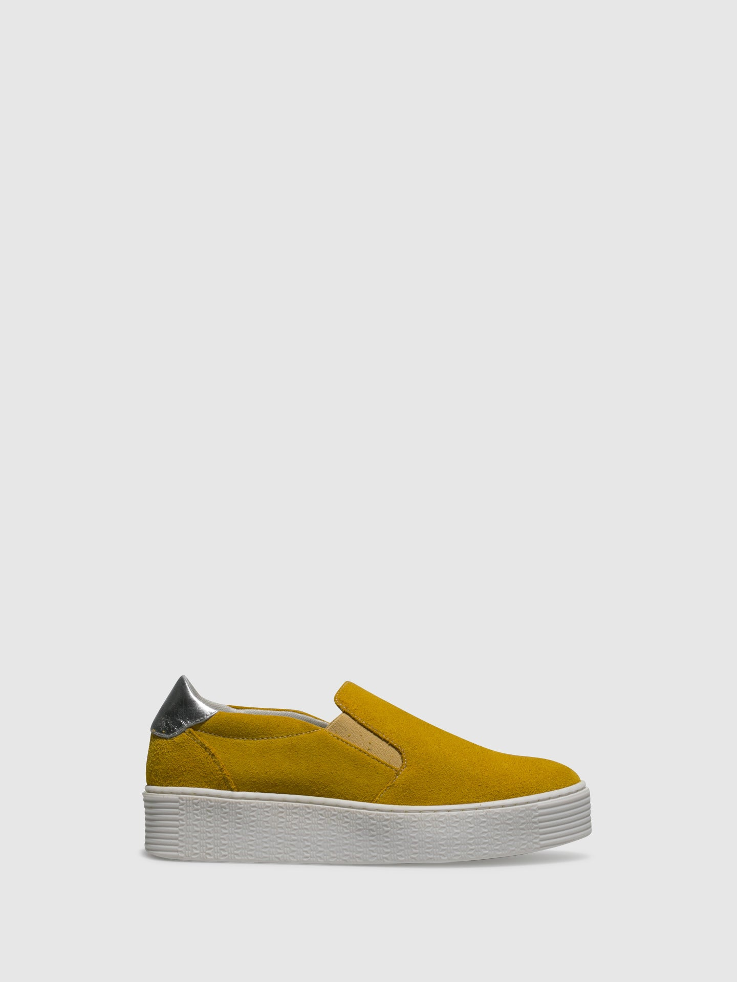 Bos&Co Yellow Slip-on Trainers