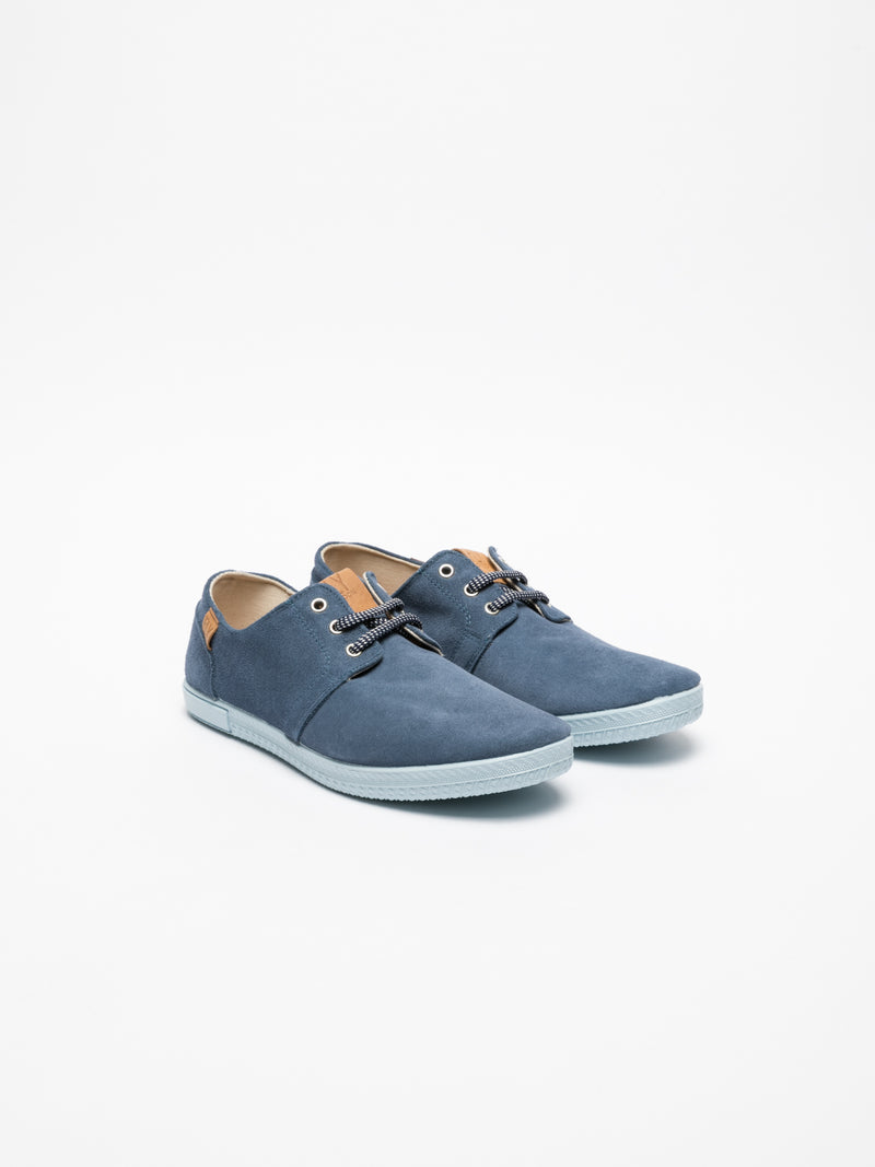 Fly London Blue Lace-up Sneakers