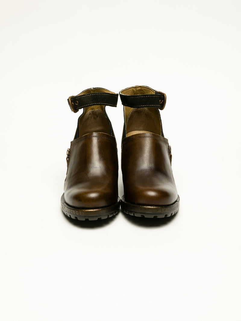 Brown Monk Shoes