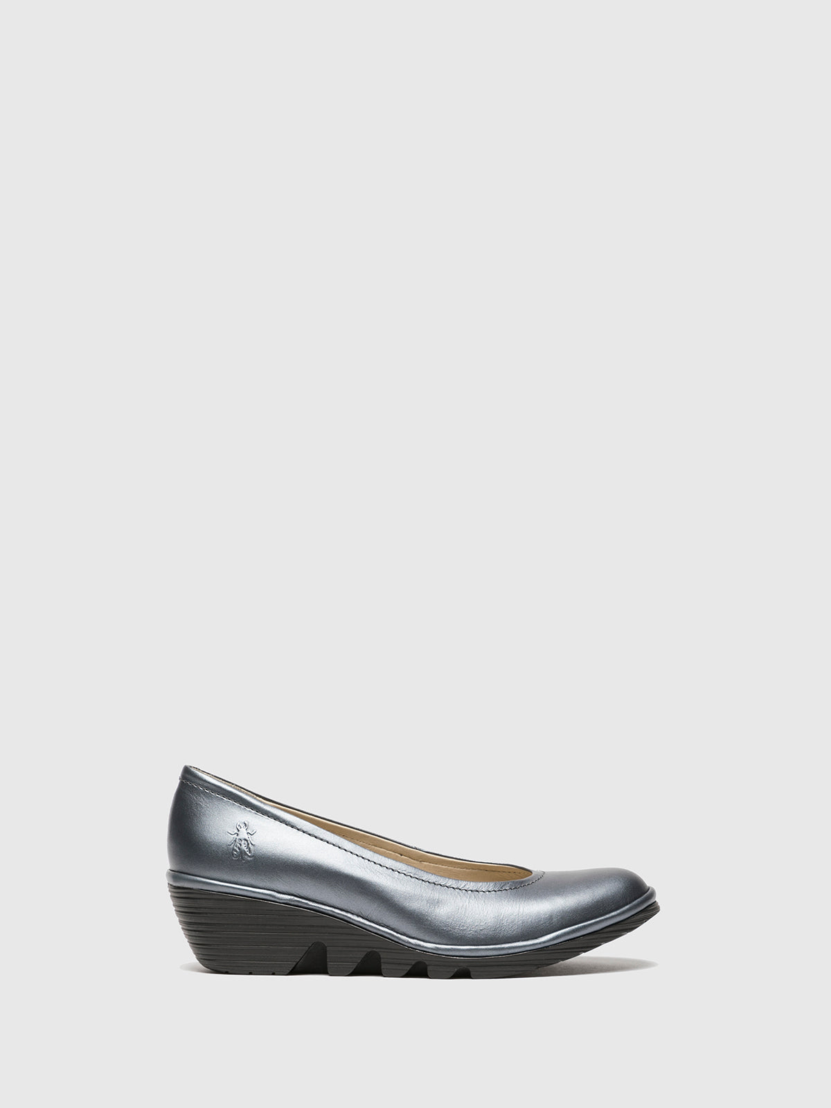 Fly London Gray Wedge Ballerinas