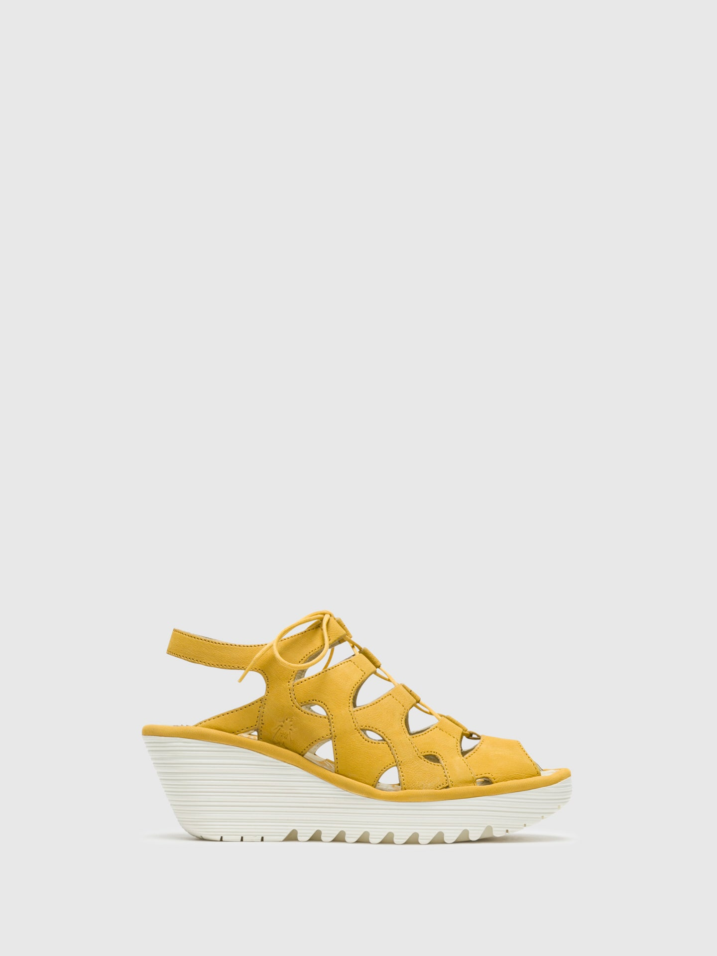 Fly London Yellow Gladiator Sandals