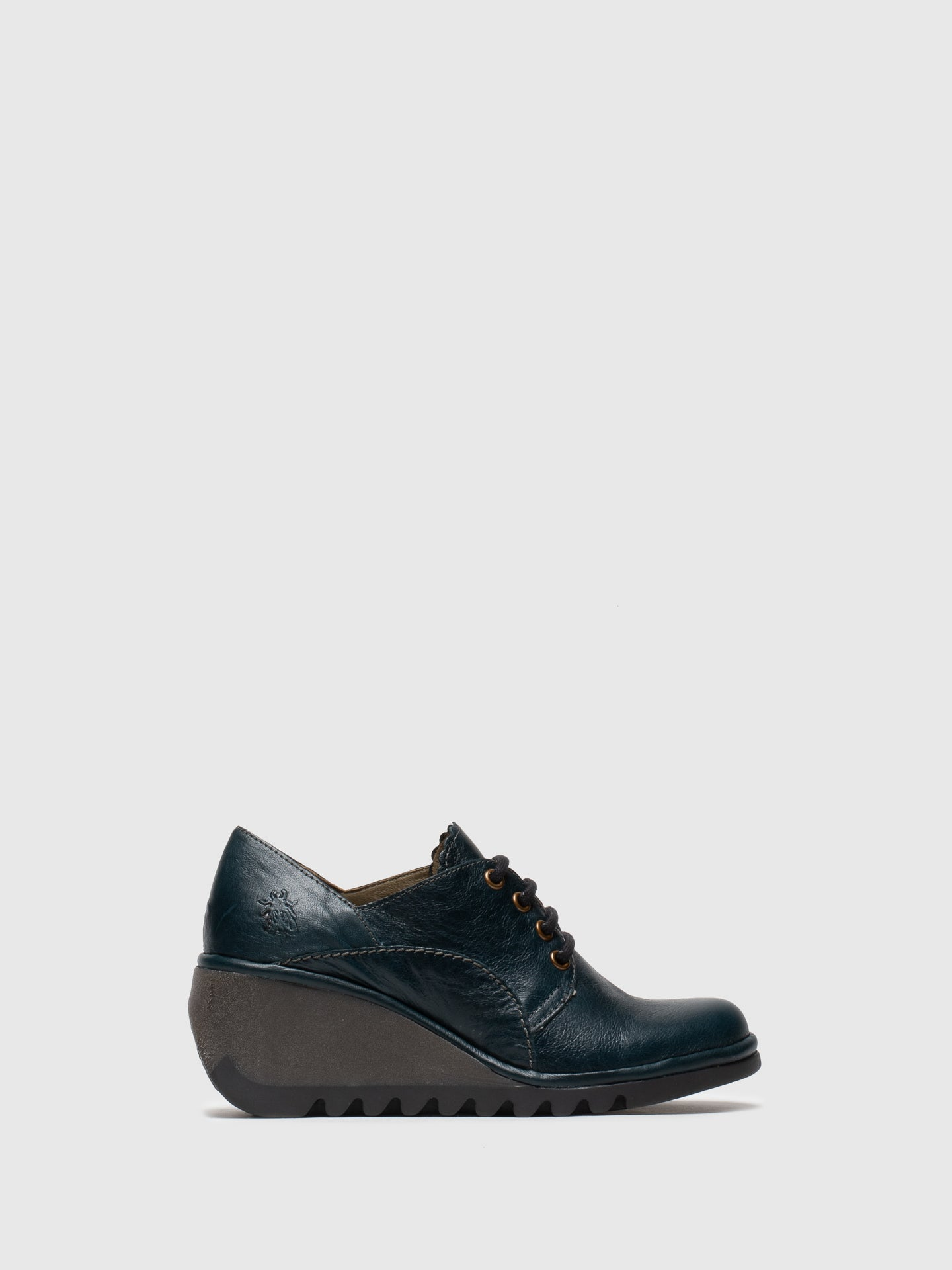 Fly London DarkGreen Lace-up Shoes