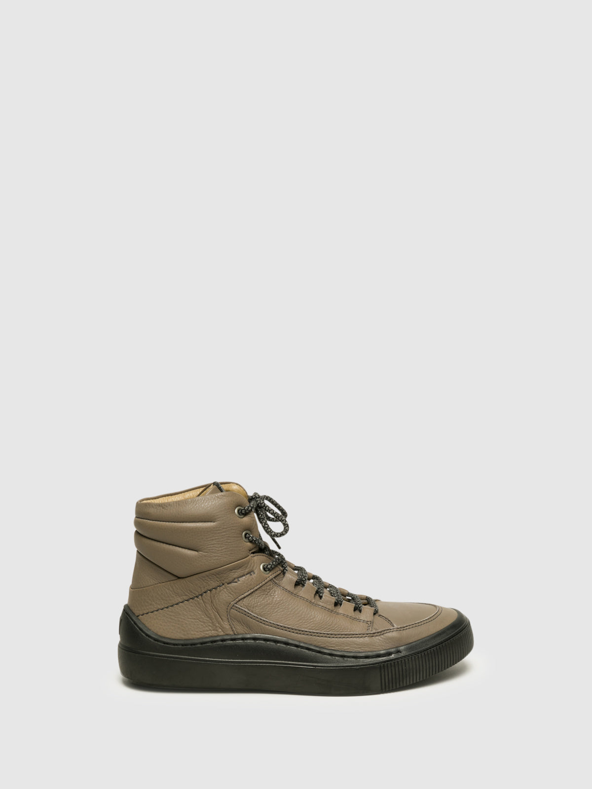 Fly London Gray Hi-Top Sneakers