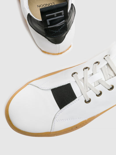 Fly London White Lace-up Sneakers