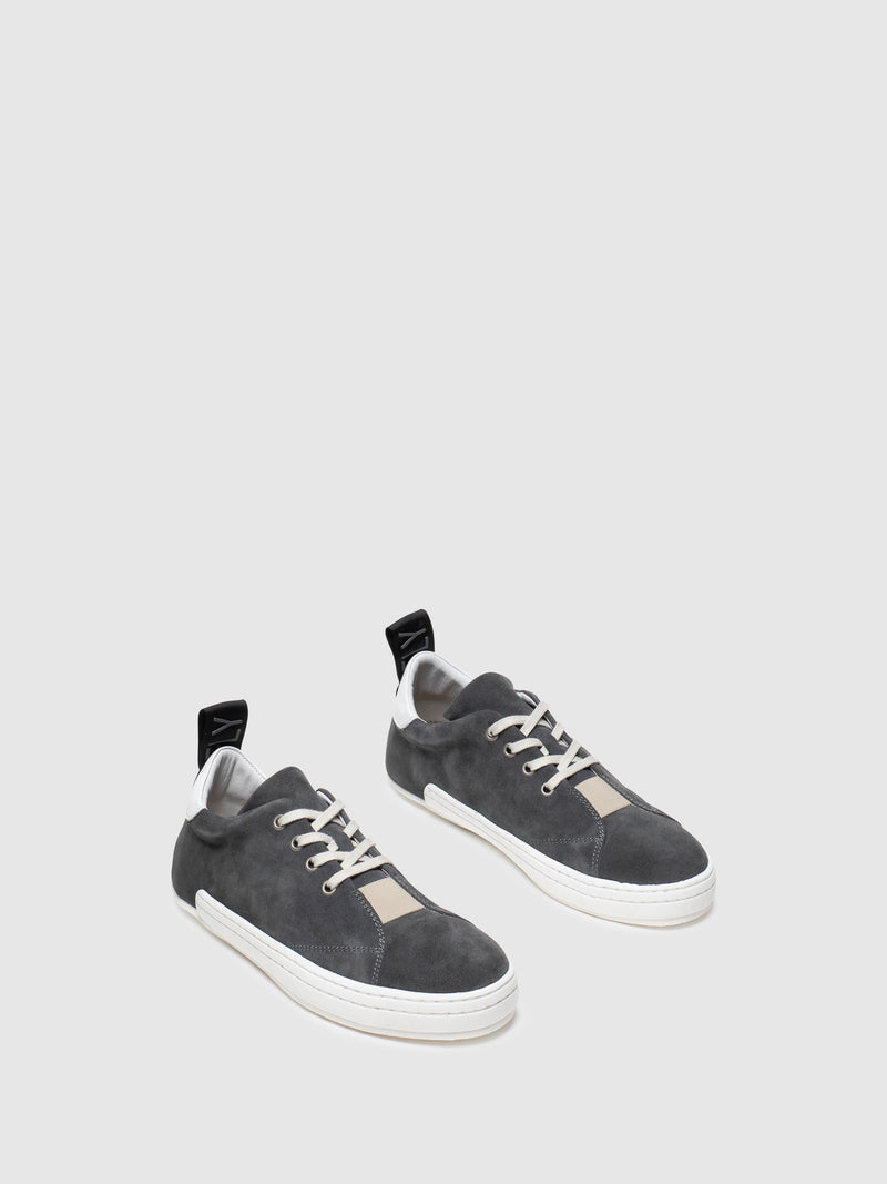 Fly London Khaki Lace-up Sneakers
