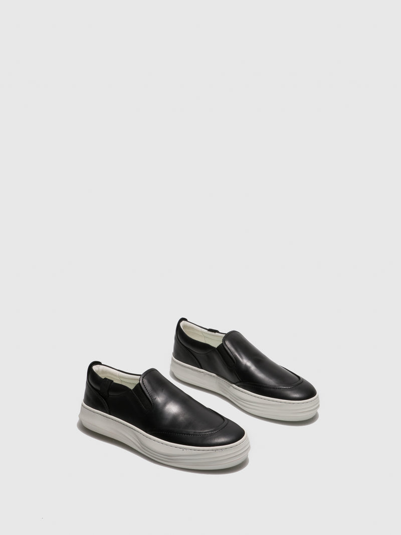 Black Slip-on Shoes