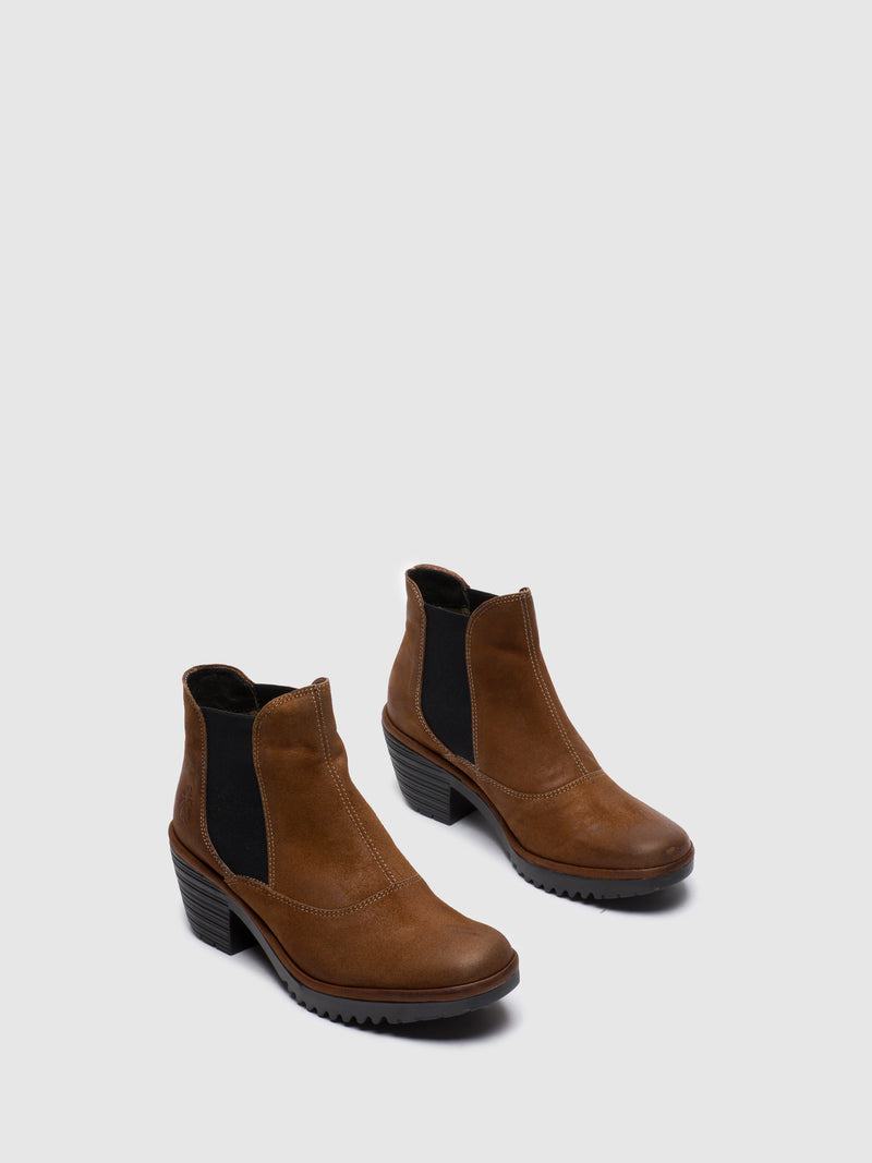 Chocolate Chelsea Ankle Boots