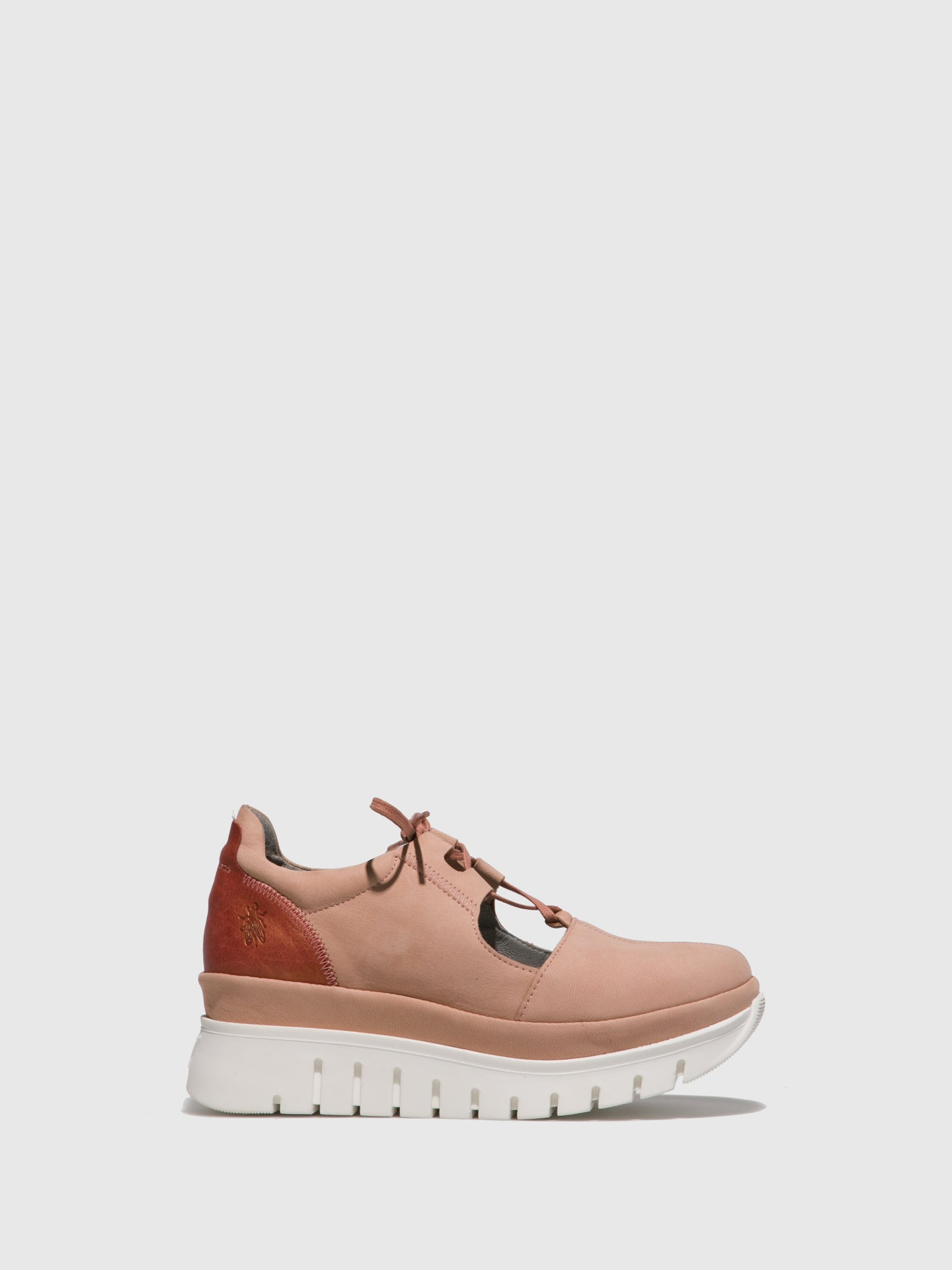 Fly London Pink Lace-up Shoes