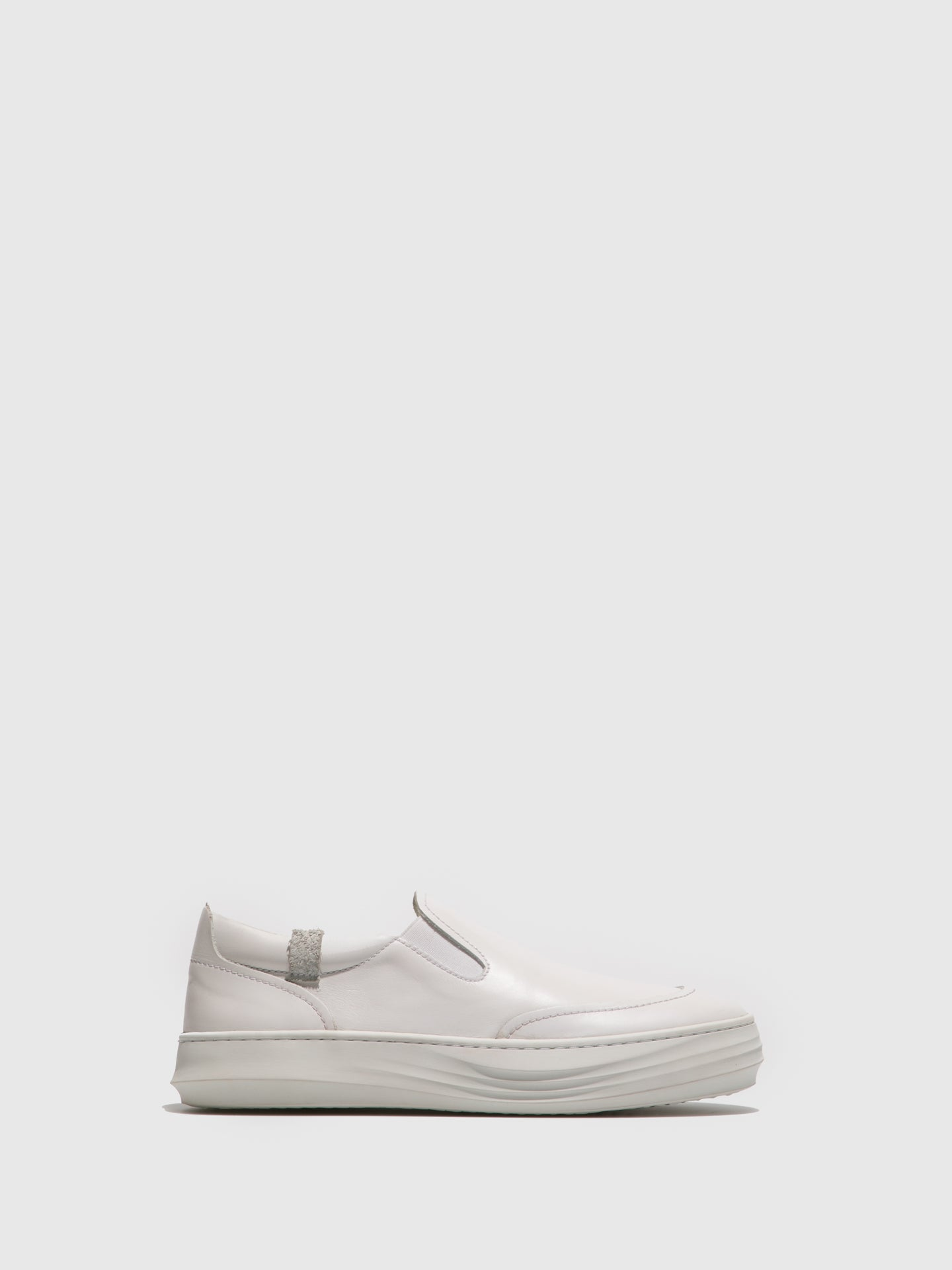 Fly London White Slip-on Shoes