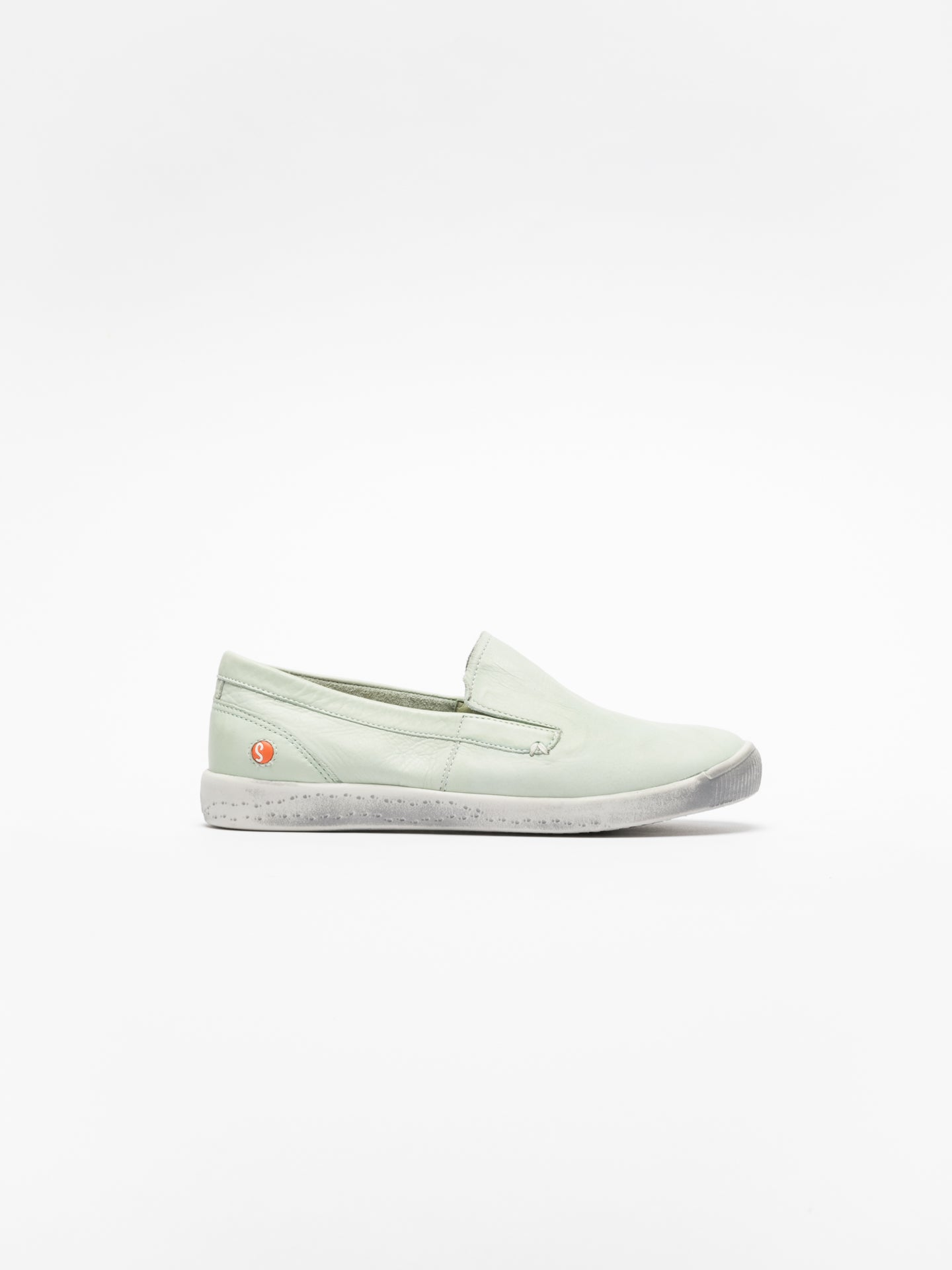 SOFTINOS Green Slip-on Sneakers