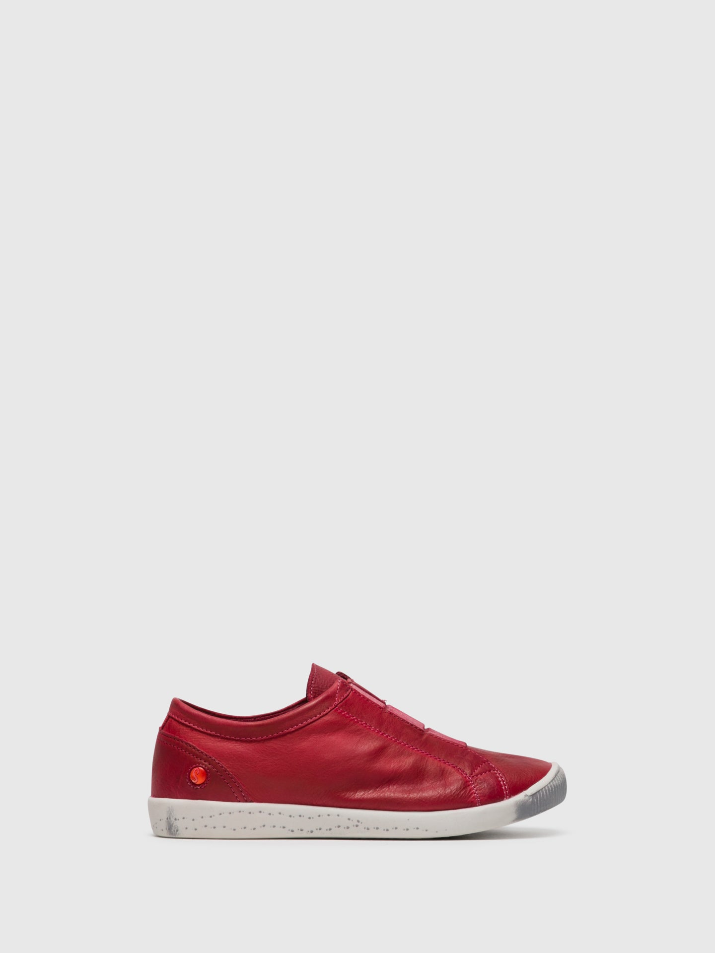 Softinos Red Slip-on Sneakers