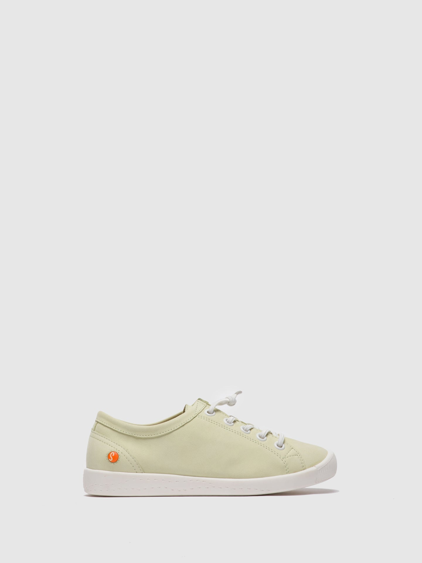 Softinos LightGreen Lace-up Shoes
