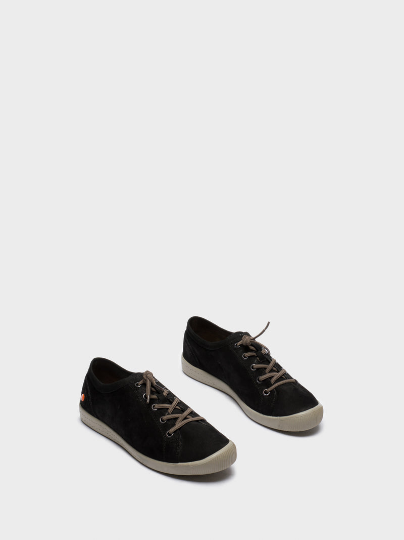 Black Low-Top Sneakers