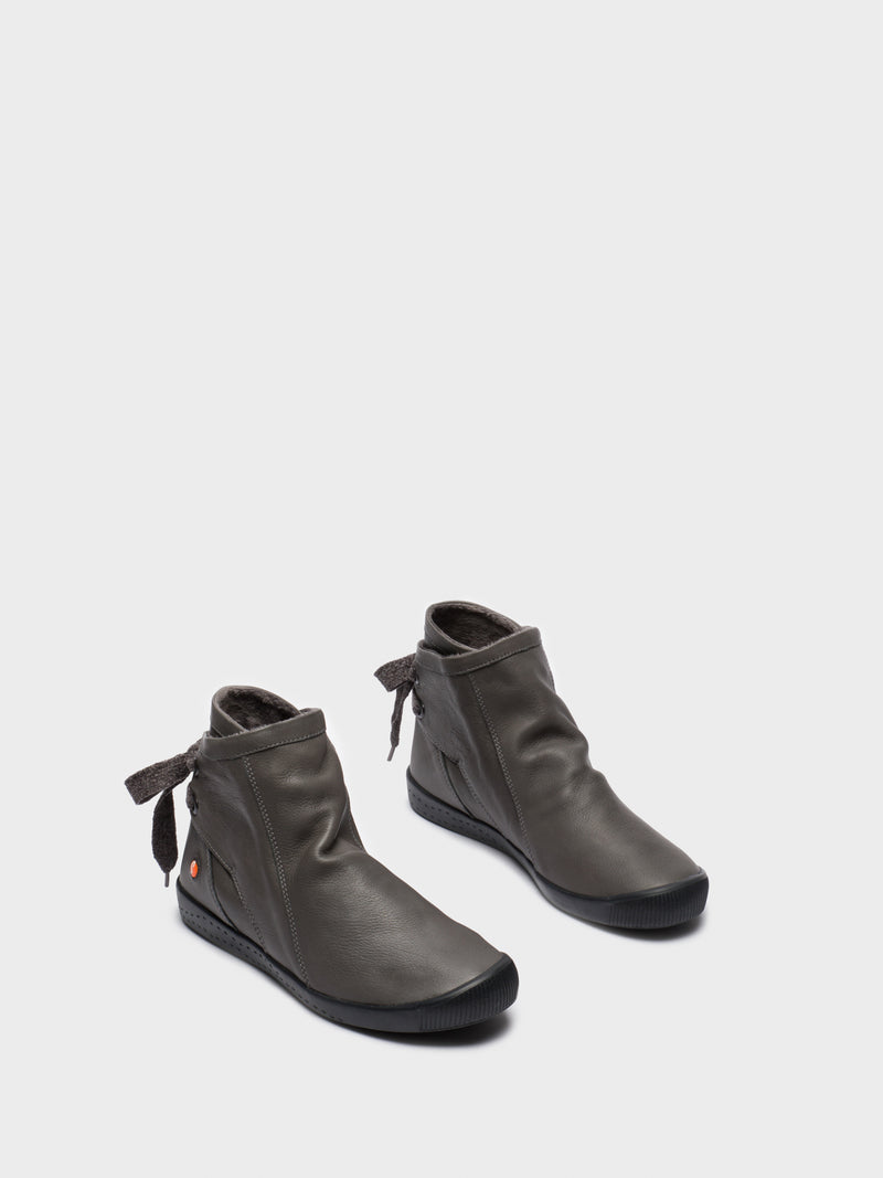 SOFTINOS Gray Sock Ankle Boots