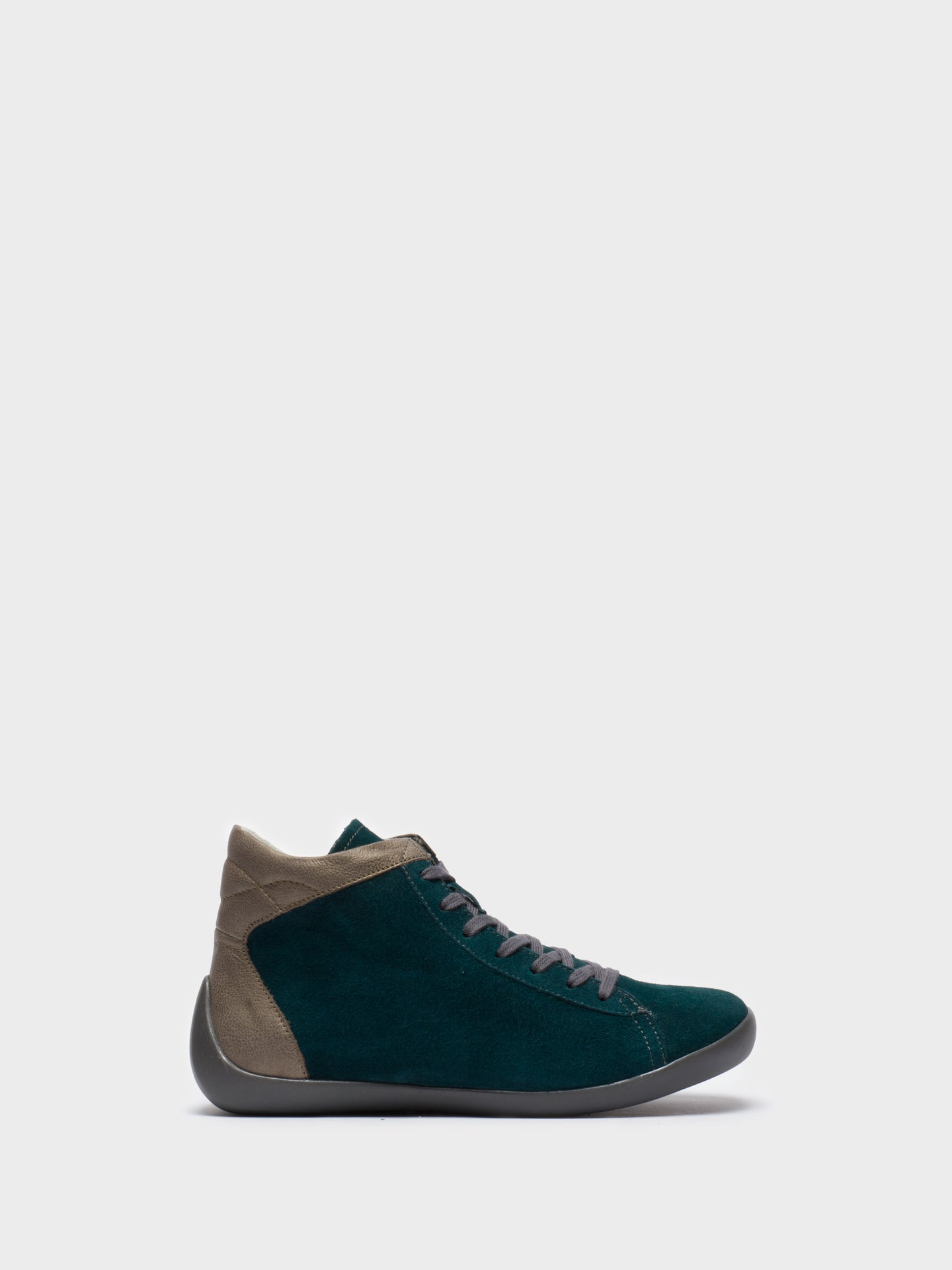 Softinos DarkGreen Hi-Top Sneakers