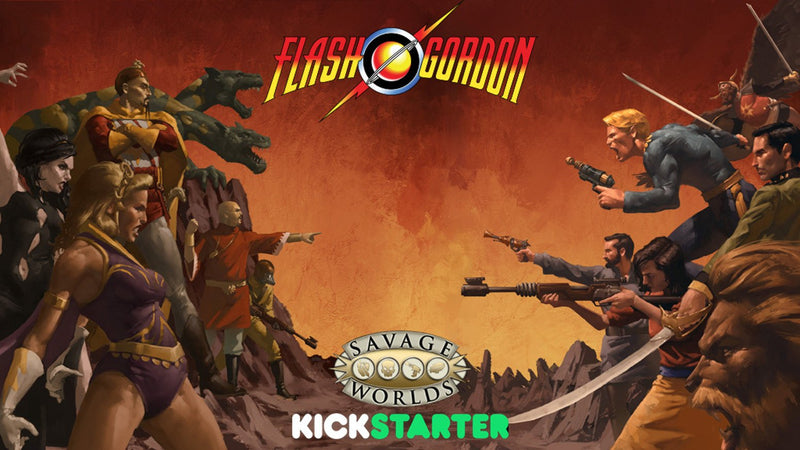 Flash Gordon PRG - Play Board Games