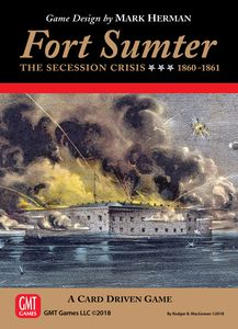 Fort Sumter the 1860 Secession Crisis - Play Board Games