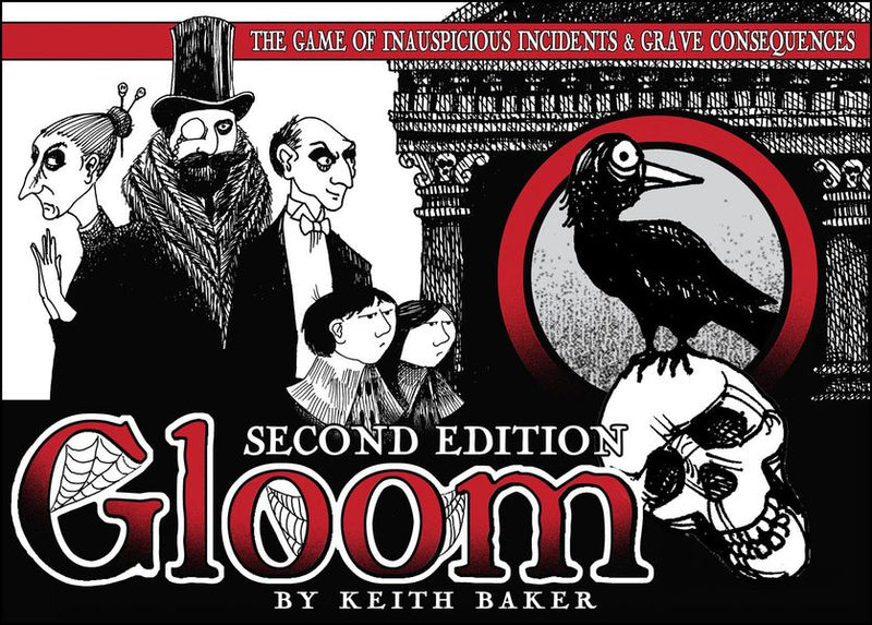 Gloom: The Card Game Second edition