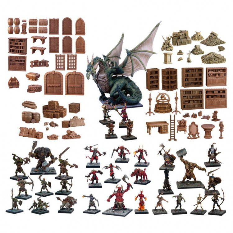 The GM's Dungeon starter set - Play Board Games