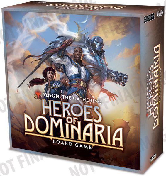 Magic The Gathering : Heroes of Dominaria - Play Board Games
