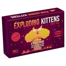 Exploding Kittens Party Pack - Play Board Games