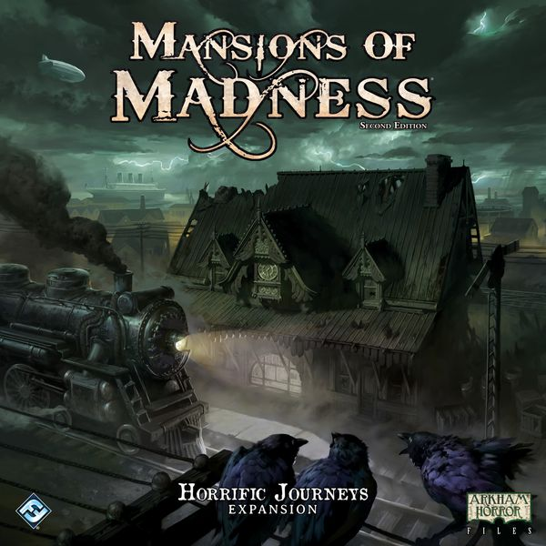 Horrific Journeys : Mansions of Madness 2nd Edition