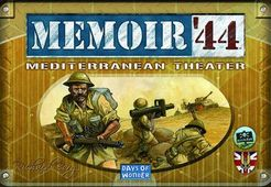 Memoir 44 : Mediterranean Theatre - Play Board Games
