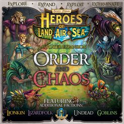 Heroes of Land Air & Sea: Order & Chaos - Play Board Games