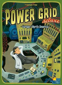 Power grid Deluxe - Play Board Games