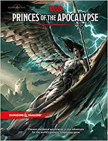 D&D Elemental Evil :Princes of the Apocalypse Adventure - Play Board Games