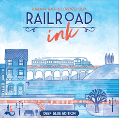 Railroad Ink: Deep Blue edition - Play Board Games