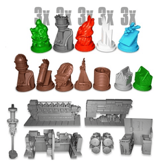 U-Boot The Board Game: Resin Miniatures Pack