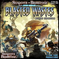 Shadows of Brimstone: Blasted Wastes : deluxe Edition - Play Board Games