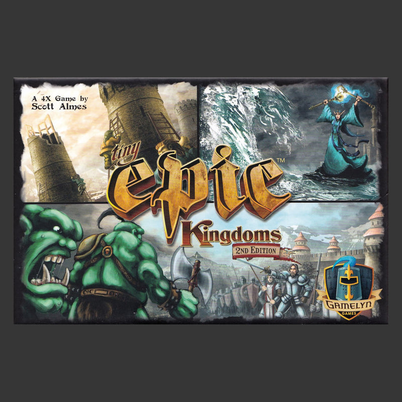 Tiny Epic Kingdoms: 2nd Edition