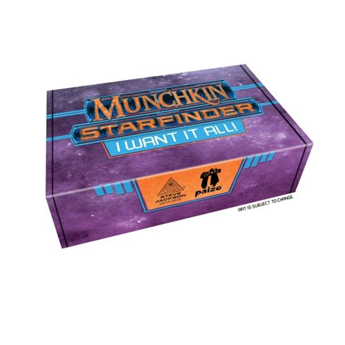 Munchkin Starfinder : I want it All - Play Board Games