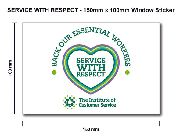 A6 Window Sticker (Inside Glass)