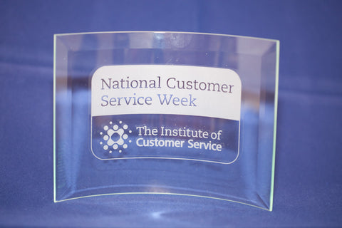 NCSW glass award