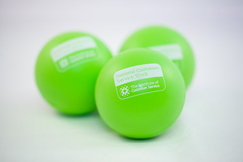 Green stress ball