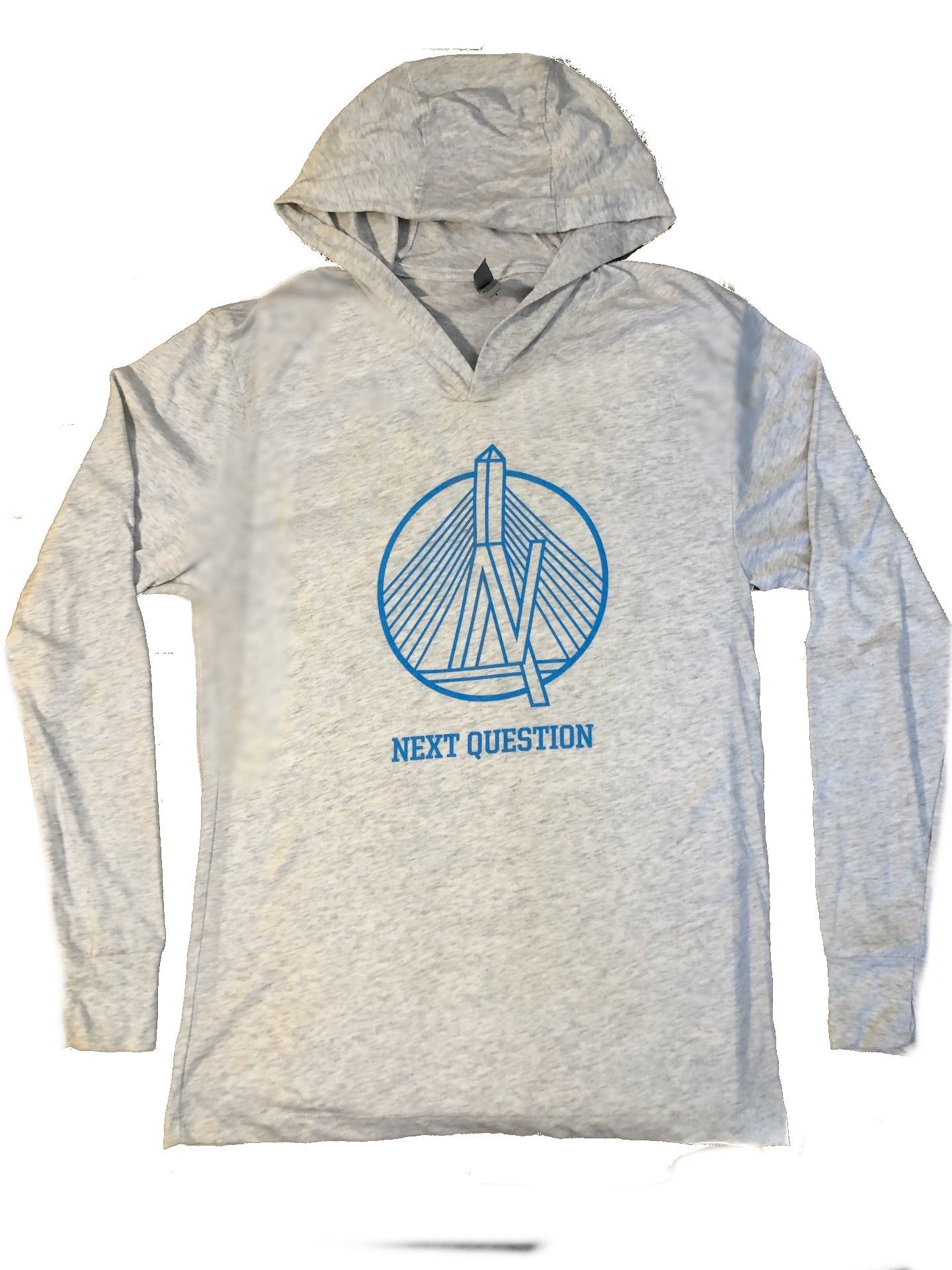 Next Question long sleeve hoodie