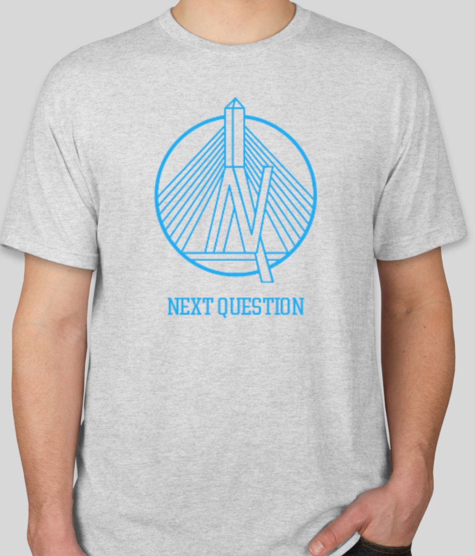 Next Question Logo Shirt- Grey